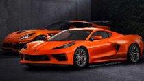 Chevrolet Corvette điều chỉnh kích thước để phù hợp với động cơ đặt giữa
