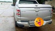 Cần bán gấp Mitsubishi Triton đời 2016, màu bạc, nhập khẩu xe gia đình, 550 triệu