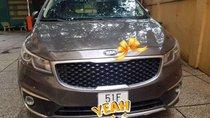Cần bán Kia Sedona đời 2016, màu nâu, xe nhập