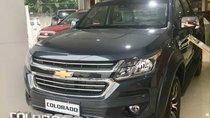 Bán xe Chevrolet Colorado sản xuất 2018, màu xanh lam, nhập khẩu Thái Lan, 594 triệu