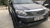 Cần bán Toyota Fortuner 2.5G sản xuất năm 2012, màu đen như mới