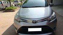 Cần bán Toyota Vios E 2016 máy mới, xe số tự động, màu bạc