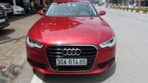 Audi A6 2014 màu đỏ