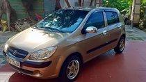Cần bán gấp Hyundai Getz năm sản xuất 2009, màu vàng, nhập khẩu nguyên chiếc, giá 220tr