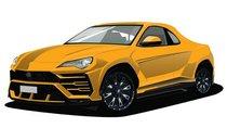Lamborghini Urus giới thiệu phiên bản bán tải mang tên NATS Urus 86