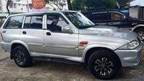 Bán xe Ssangyong Musso năm 2000, màu bạc, xe nhập