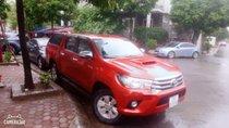 Bán Toyota Hilux đời 2016, màu đỏ, nhập khẩu