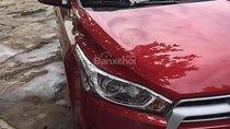 Bán Toyota Yaris 1.3G 2016, màu đỏ, nhập khẩu, 590 triệu