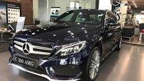 Cần bán Mercedes C300 AMG năm 2018, màu xanh