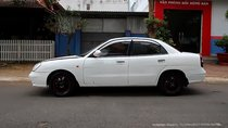 Bán Daewoo Nubira II 1.6 đời 2002, màu trắng, giá 123tr