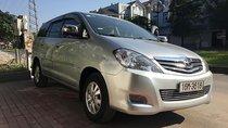 Cần bán Toyota Innova V đời 2008, màu bạc
