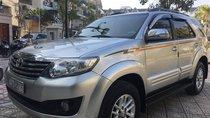 Bán Toyota Fortuner V sản xuất năm 2014, màu bạc