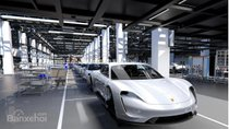Porsche Taycan hé lộ giá và tên của biến thể đầu bảng