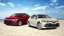 'So kè sòng phẳng' với Toyota Camry tại Mỹ nhưng Honda Accord lại ế tại Việt Nam