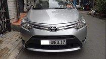 Cần bán Toyota Vios 1.5E 2015, màu bạc