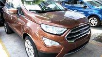 Cần bán xe Ford EcoSport Titanium 1.5AT đời 2018, màu nâu