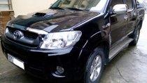 Bán Toyota Hilux đời 2011, màu đen, nhập khẩu