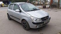 Cần bán gấp Hyundai Getz sản xuất năm 2010, màu bạc