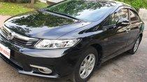 Bán Honda Civic 1.8 AT đời T8/2013, sx 2012, màu đen, vip mới 90%