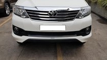 Đổi xe lên đời - Toyota Fortuner TRD 4X2 2.7V năm 2015, màu trắng - LH 0971626238