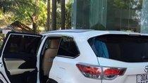 Bán xe Toyota Highlander đời 2014, màu trắng, nhập khẩu
