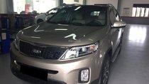 Gia đình cần bán xe Sorento 2016 số tự động, đăng ký 2017, màu vàng cát