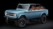 Xe cổ siêu hiếm Ford Bronco 1966 độ lại sức mạnh, ra giá gần 6 tỷ đồng