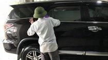 Cần bán gấp Toyota Fortuner 2017, màu đen, xe nhập chính chủ