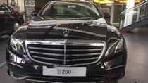 Bán Mercedes E200 đời 2018, màu đen, nhập khẩu