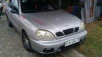 Bán Daewoo Lanos MT năm sản xuất 2002, màu bạc, xe đẹp, máy êm