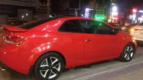 Cần bán lại xe Kia Cerato AT sản xuất 2011, màu đỏ, nhập khẩu