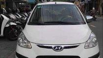 Cần bán lại xe Hyundai Grand i10 AT 2010, màu trắng, nhập khẩu, máy móc êm ru