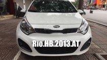 Bán Kia Rio Hatchback, nhập Hàn Quốc, số tự động, màu trắng, SX Cuối 2013, biển 30A