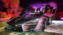 Siêu xe McLaren Senna mới tậu bất ngờ bốc cháy ngay đêm giao thừa tại Mỹ