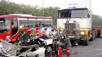 Kỳ nghỉ tết dương lịch 2019 để lại những con số đau thương về tai nạn giao thông