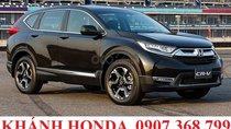 Cần bán Honda CR V G sản xuất năm 2018, màu đen, xe nhập, giao trước tết