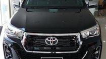 Bán xe Toyota Hilux G 4X4 AT đời 2018, màu đen, xe nhập khẩu