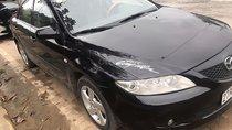 Bán Mazda 6 đời 2004, màu đen số sàn