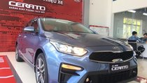 Cần bán xe Kia Cerato Delux năm sản xuất 2018, màu xanh lam, giá 559tr