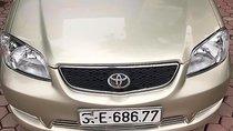 Bán xe Toyota Vios đời 2003, màu vàng, 220 triệu