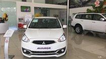 Mitsubishi Mirage CVT, màu trắng, nhập khẩu nguyên chiếc, full option, 450 triệu, liên hệ 0931911444