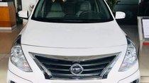 Bán Nissan Sunny AT 2018, màu trắng, hộp số tự động 4 cấp / 4AT ghế da, số chỗ ngồi 05 cửa
