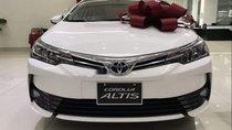 Cần bán Toyota Corolla Altis 1.8E CVT sản xuất 2019, màu trắng, xe giao ngay
