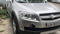 Gia đình bán ô tô Chevrolet Captiva MT sản xuất 2007, màu bạc