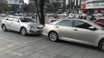 Cần bán lại xe Toyota Camry 2.4 AT đời 2007, màu bạc