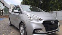 Bán ô tô Hyundai Grand i10 năm sản xuất 2018, màu bạc, giá tốt