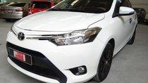 Bán xe Toyota Vios 1.5E MT đời 2017, màu trắng quá mới