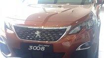 Cần bán Peugeot 3008 1.6 AT đời 2018, màu nâu