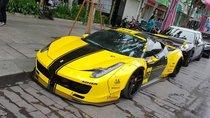 Bắt gặp Ferrari 458 Italia độ Liberty Walk độc đáo nhất Việt Nam trở lại màu vàng nổi bật
