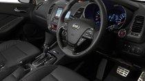 Cần bán gấp Kia K3 1.6 AT đời 2015, màu đen còn mới
